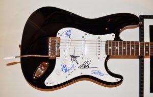 Guns N' Roses Signed Pick Guard