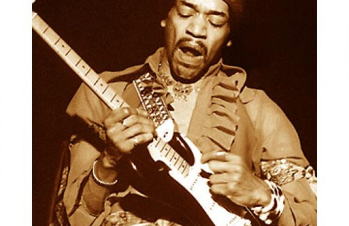 Hendrix Honolulu Sepia (1969)