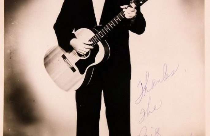 Big Bopper Signed 8×10 Photograph