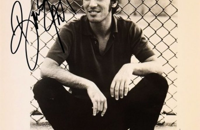 #2-Bruce Springsteen Hand Signed 8×10 Photograph