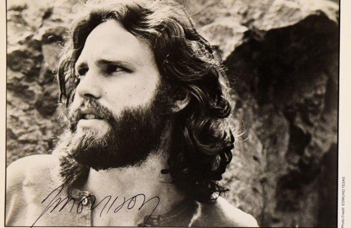 #1-Jim Morrison Signed Photograph