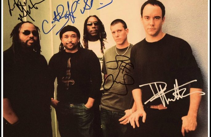 #1-Dave Matthews Band Signed 8×10 Photograph