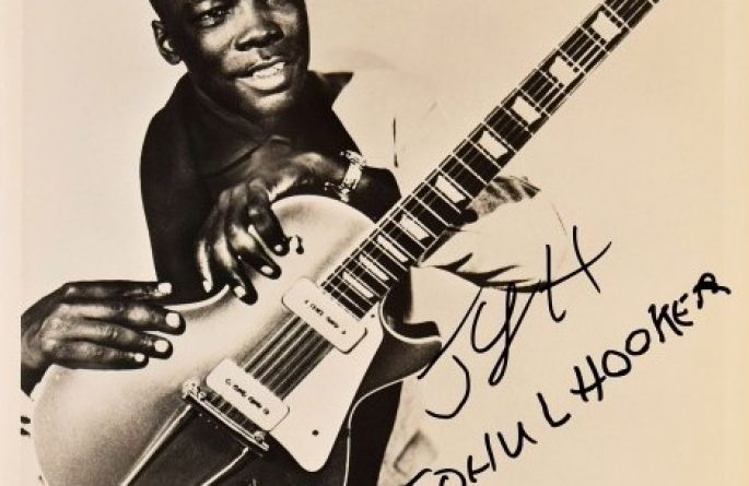 John Lee Hooker Signed 8×10 Photograph