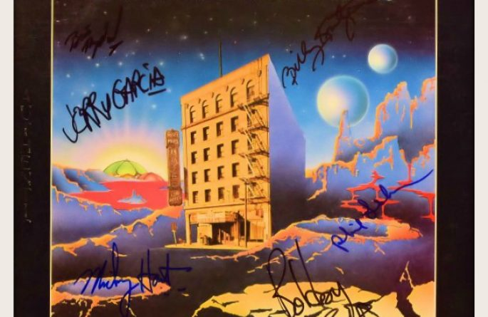 The Grateful Dead – From The Mars Hotel