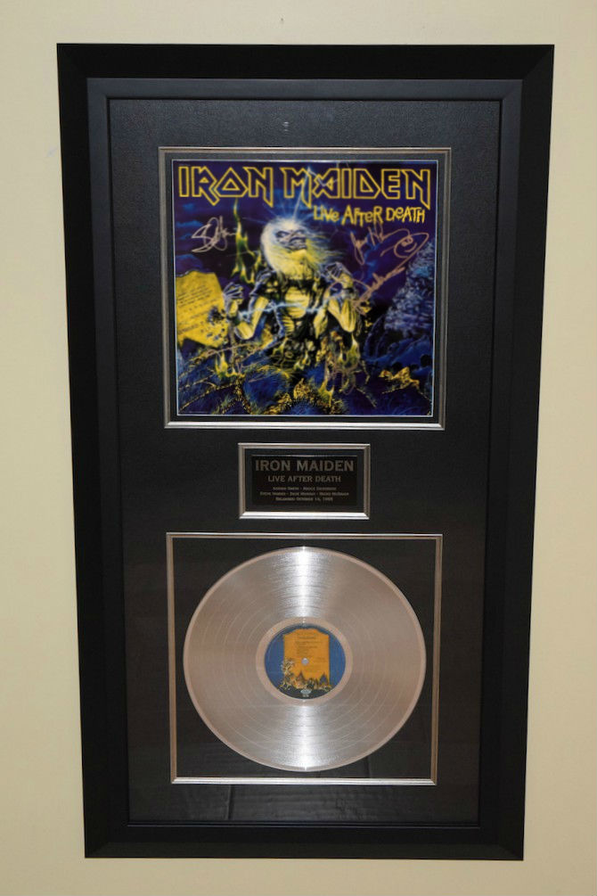 Iron Maiden Live After Death Adrian Smith Bruce