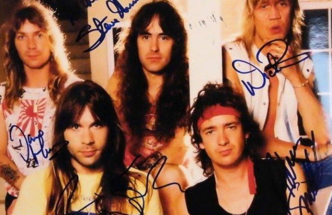 #1-Iron Maiden Signed 8×10 Photograph