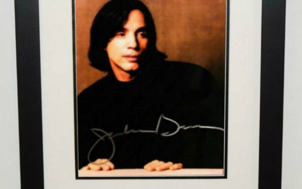 Jackson Browne Signed 8×10 Photograph