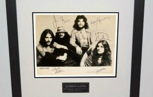 James Gang Signed 8×10 Photograph