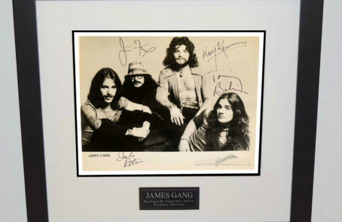 James Gang Signed 8×10 Photograph