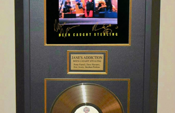 "Jane's Addiction – Been Caught Stealing 12"" Single Release"