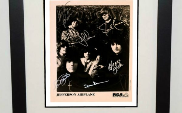 #1-Jefferson Airplane Signed 8×10 Photograph