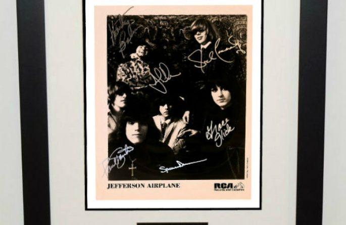 #1-Jefferson Airplane Signed 8×10 Photograph