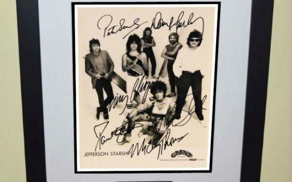 #2-Jefferson Starship Signed 8×10 Photograph