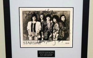 #1-Jefferson Starship Signed Photograph