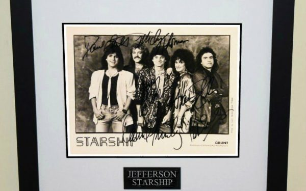 #1-Jefferson Starship Signed 8×10 Photograph