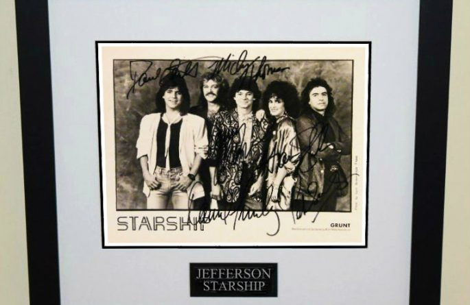 #1-Jefferson Starship Signed Photograph