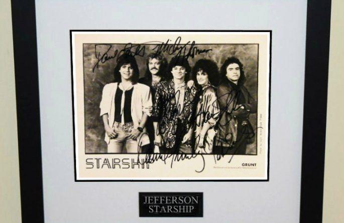#1-Jefferson Starship Signed 8×10 Photograph