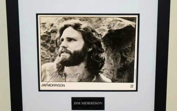 #1-Jim Morrison Signed 8×10 Photograph