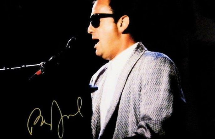 #2-Billy Joel Signed 8×10 Photograph