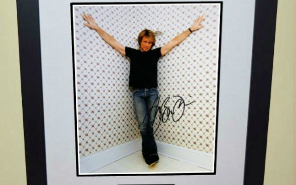 #3-Bon Jovi Signed 8×10 Photograph