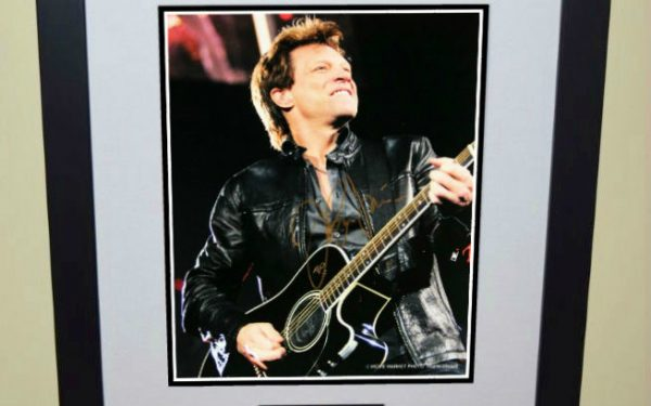 #1-Bon Jovi Signed 8×10 Photograph