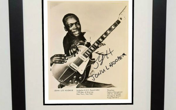 John Lee Hooker Signed Photograph