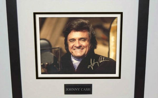 #3-Johnny Cash Signed 8×10 Photograph