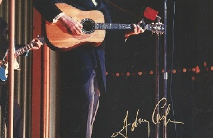 #2-Johnny Cash Signed 8×10 Photograph