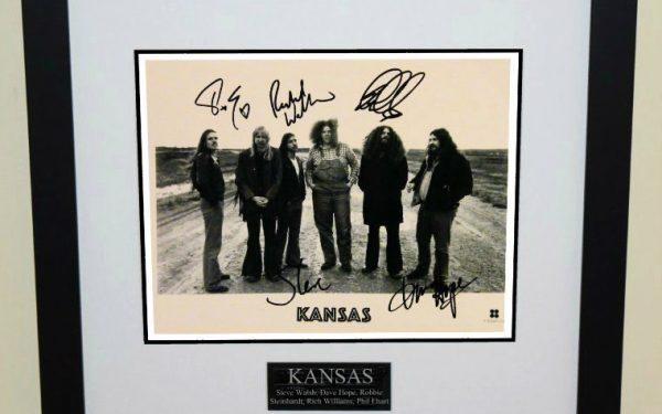 Kansas Signed 8×10 Photograph