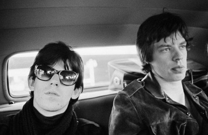 Keith Richards and Mick Jagger, Limo