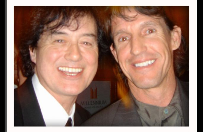 Michael Dunn With Jimmy Page