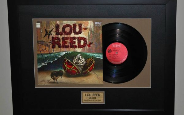 Lou Reed – Debut Release