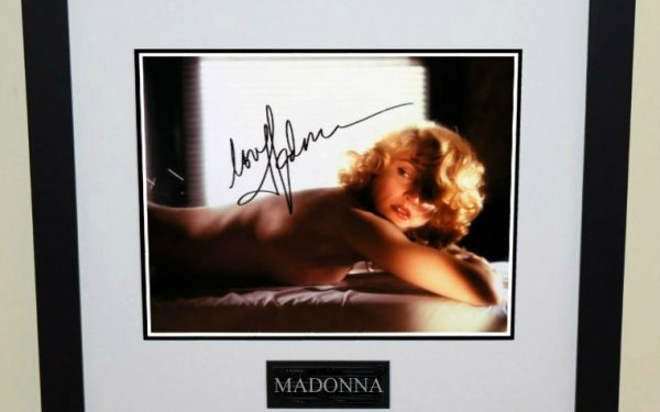 #1-Madonna Signed 8×10 photograph