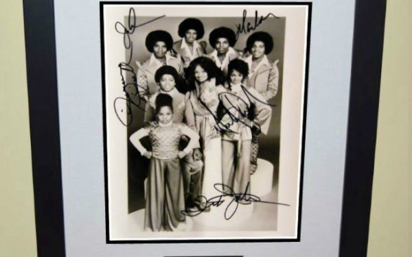 #3-Michael Jackson Signed 8×10 Promotional Photograph
