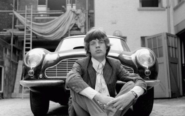 Mick Jagger, Aston Martin