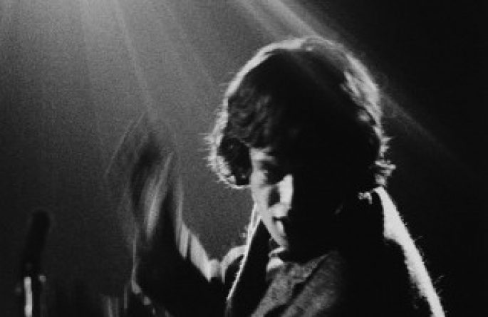 Mick Jagger In Spotlight