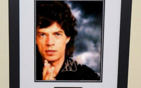 #2-Mick Jagger Signed 8×10 photograph
