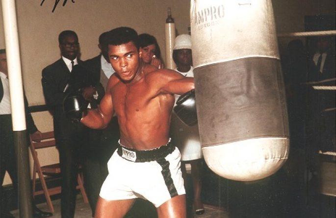 #3-Muhammad Ali Signed 8×10 Photograph