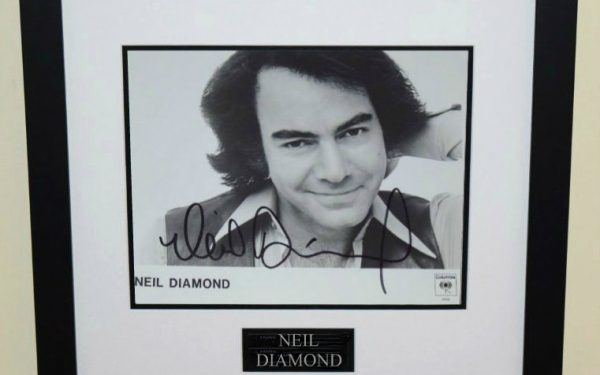 #2-Neil Diamond Signed 8×10 Photograph