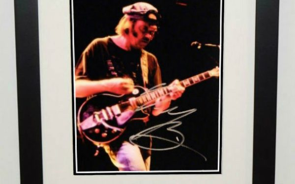 #2-Neil Young Signed 8×10 Photograph