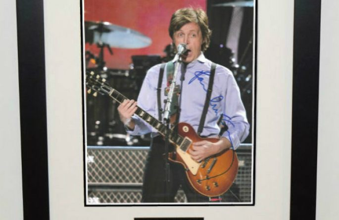 #2-Paul McCartney Signed 8×10 Photograph