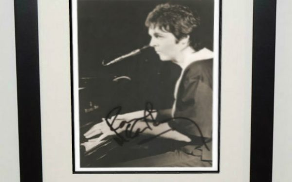 #3-Paul McCartney Signed 8×10 Photograph