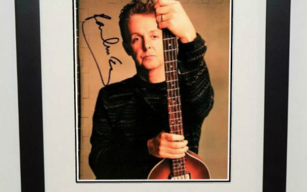 #4-Paul McCartney Signed 8×10 Photograph