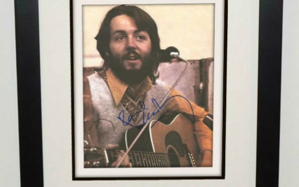 #5-Paul McCartney Signed 8×10 Photograph