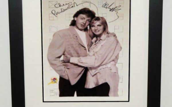 #8-Paul and Linda McCartney Signed 11×16  Photograph