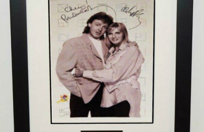 #8-Paul and Linda McCartney Signed 11×16  Photograph