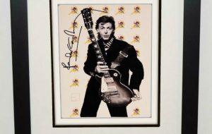 #9-Paul McCartney Signed 8×10 Photograph
