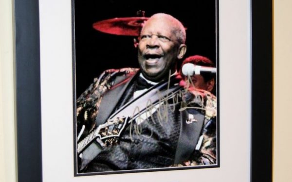 #3-BB King Signed 8×10 Photograph