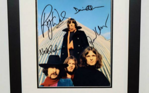 #1-Pink Floyd Signed 8×10 Photograph