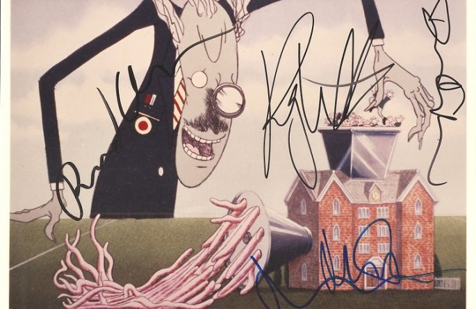 #3-Pink Floyd Signed 8×10 Photograph